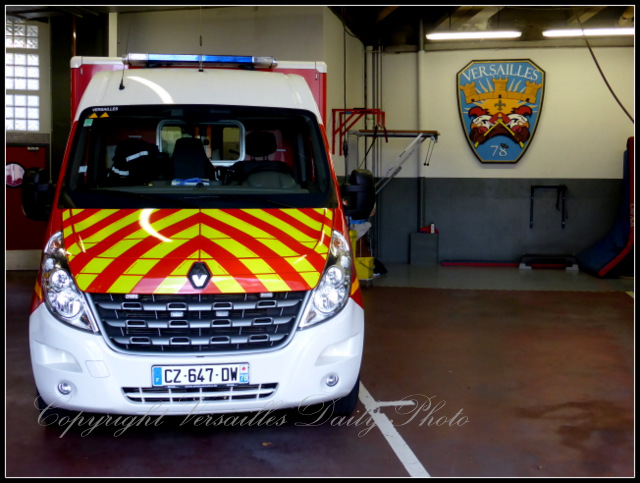 Fire station Versailles