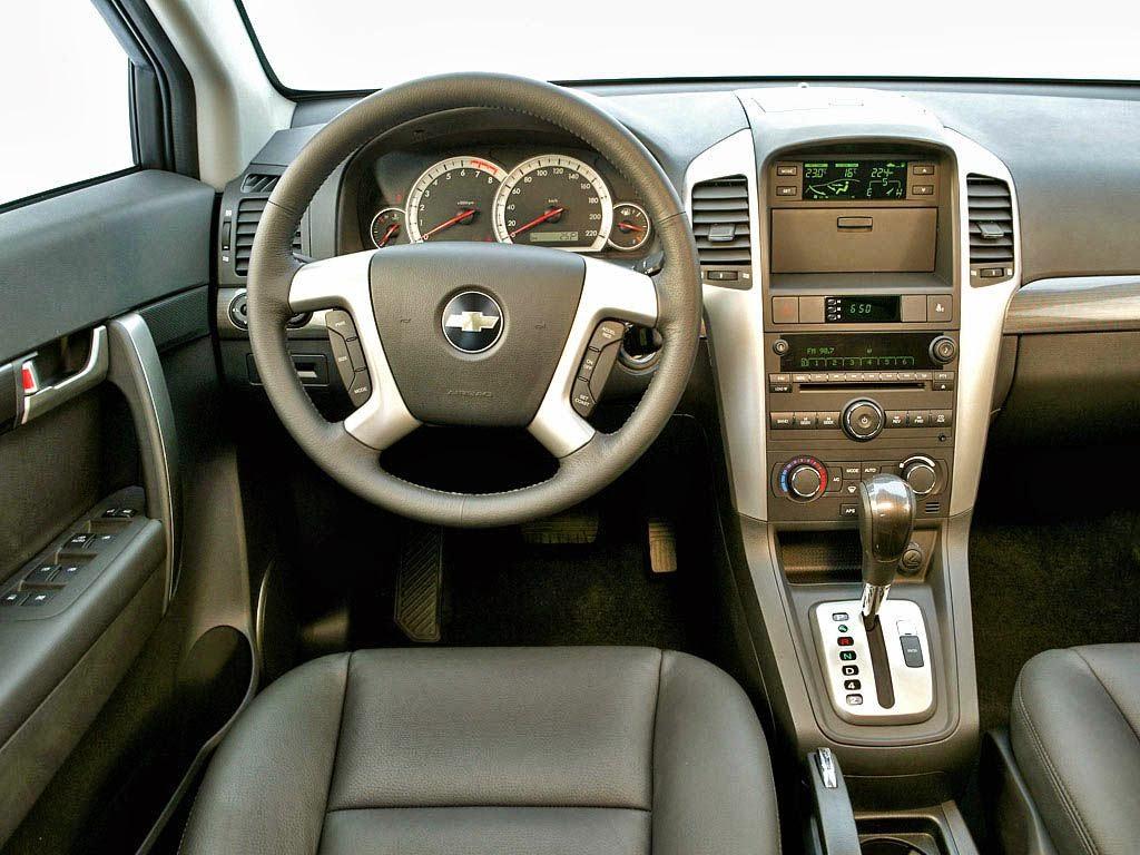 Chevrolet Captiva 4x4 7 places intérieur
