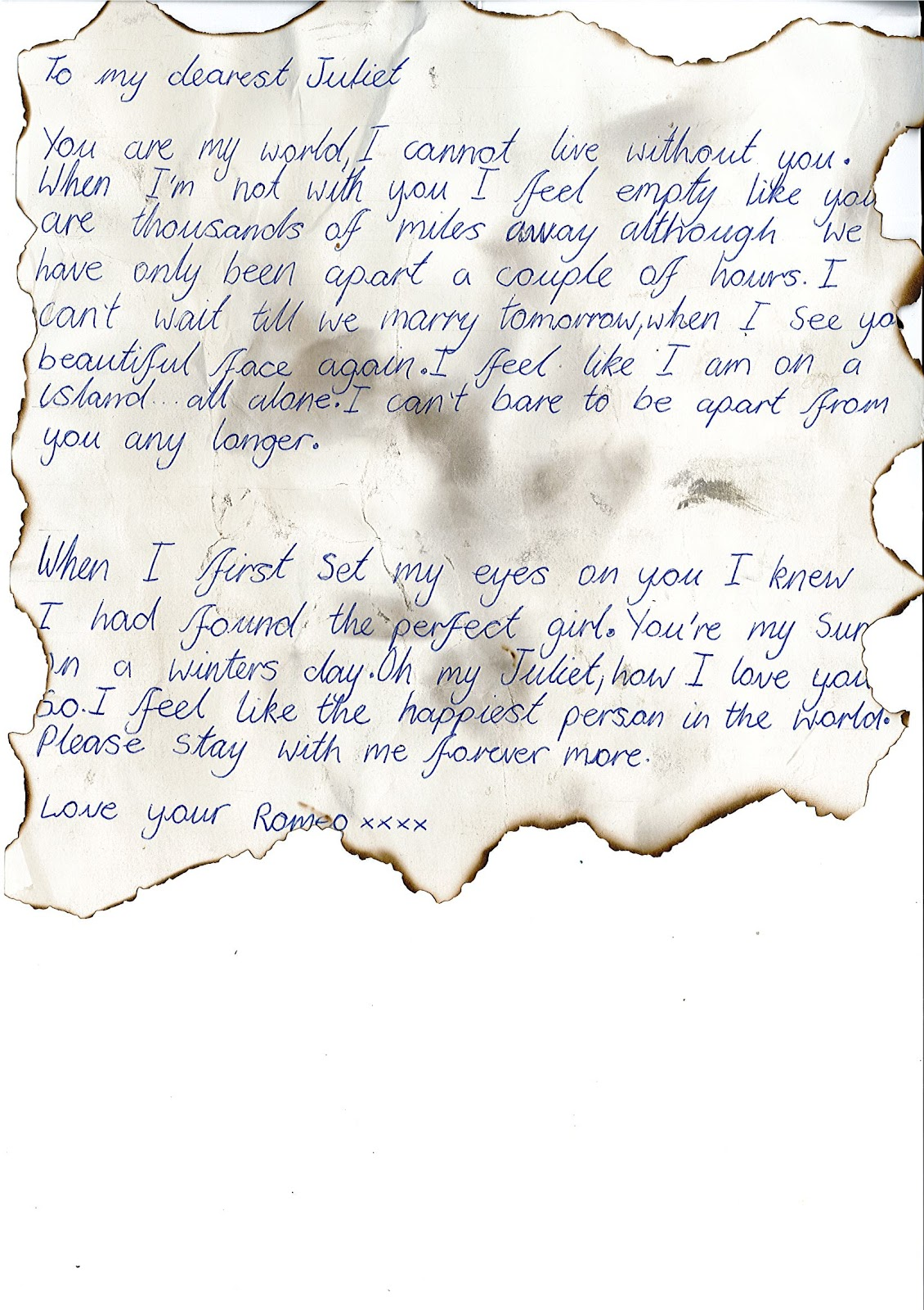 a letter from romeo and juliets lawyer Letters that will never be read, similar to those of forgotten dreams or however you wish to see it (if i do add you as an author, you may only write a letter to romeo or juliet it has to be a book of letters, and it has to honor something similar to love.