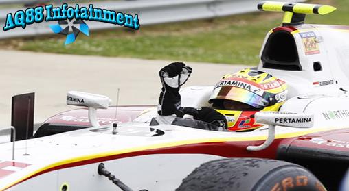 Rio Haryanto sudah meraih tiga kemenangan dalam lima seri GP2 yang sudah digelar. Dia berharap terus meraih hasil positif dalam seri-seri GP2 berikutnya.