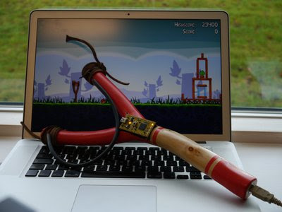 USB Slingshot for Angry Bird Game