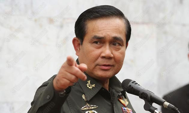 แจกเงินชาวสวนยางพารา พลเอก ประยุทธ์ จันทร์โอชา