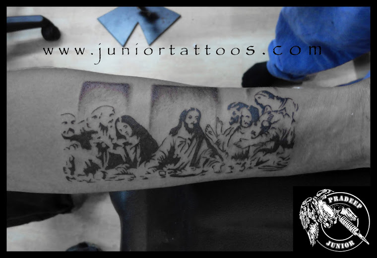 Last Supper tattoo