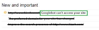 Peringatan oleh google webmaster