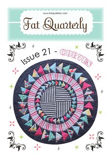 eeep my gardenvale beauty is on the front cover of Fat Quarterly !