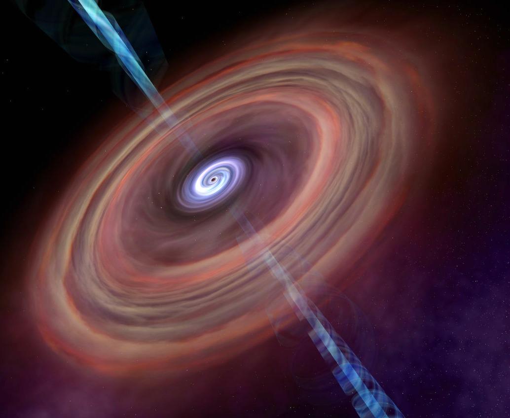 black hole accretion - photo #15