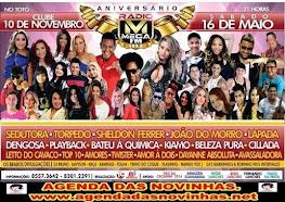 CLUBE 10 DE NOVEMBRO (TOTÓ) - ANIVERSÁRIO DA RÁDIO MEGA FM 102,5