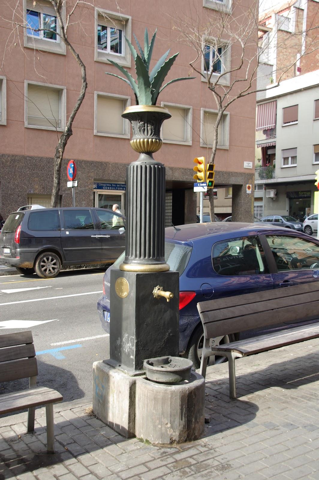 Las estrellas del camino fuentes de barcelona - Calle escorial barcelona ...