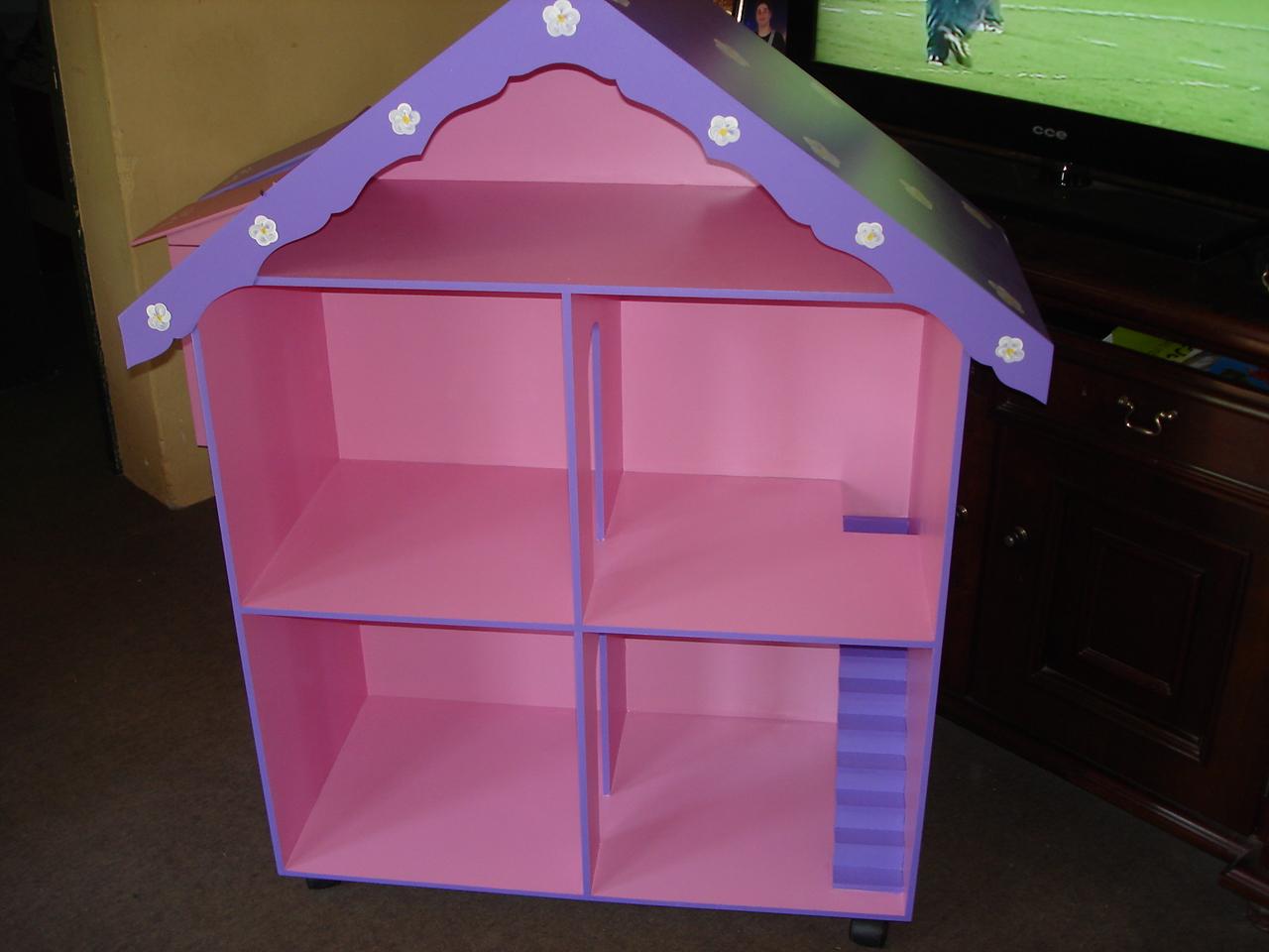 Moveis Barbie Para Casa De Boneca 17 Pc Casa De Madeira #52408B 1280x960