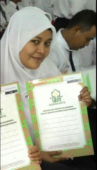 Acara Pengkuhan Guru Profesional LPTK Rayon 232 IAIN Surakarta Tahun 2015