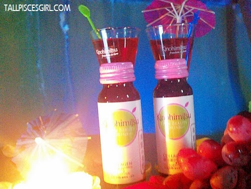 Mocktails made from Kinohimitsu J'pan Beauty Drink
