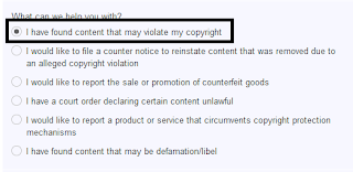 Report and Remove Copied Content from Google
