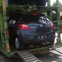 Pengiriman Mazda 3 AB 1070 RK Jogja ke Jakarta