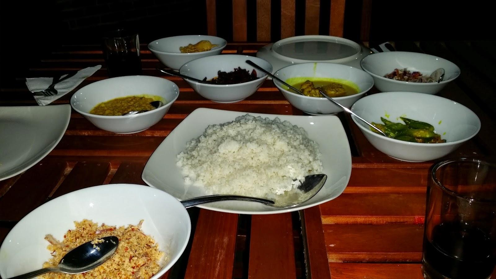 El arroz con curry es el plato nacional de Sri Lanka