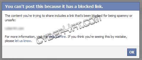 Trik Berbagi Artikel di Facebook Jika Domain Diblokir
