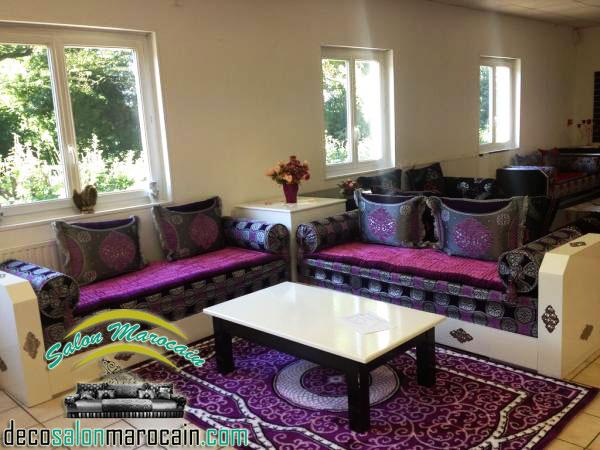 Salon moderne maroc - Faire un salon marocain ...
