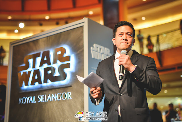 Mr. Yong Yoon Li, General Manager of  Royal Selangor @ Star Wars x Royal Selangor Collection