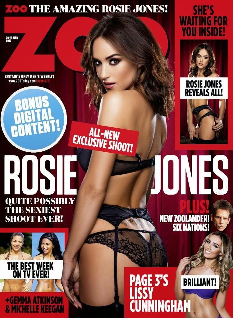 Rosie Jones - ZOO UK, 20 March 2015