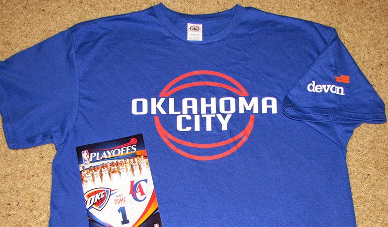 Oklahoma City Thunder Playoffs Shirt
