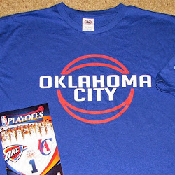 NBA 2K14 OKC Thunder Playoffs Crowd Mod : T-Shirt