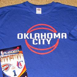 NBA 2K14 OKC Thunder Playoffs Crowd Mod : T-Shirt