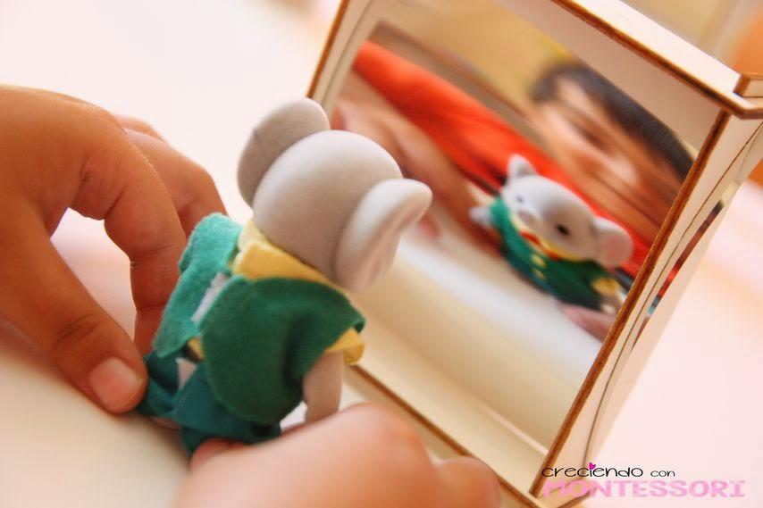 Kit didongo julio espejo espejito creciendo con for Espejo montessori