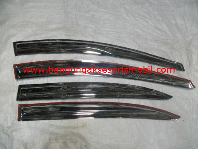 Talang Air All New City Chrome Mugen Import 3M Depan Belakang