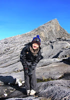 Me on top of Gunung Kinabalu
