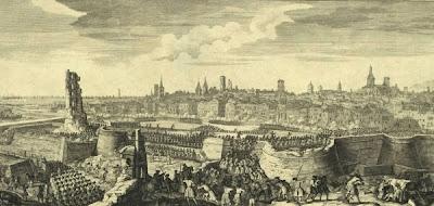 Entrada de les tropes franco-espanyoles a Barcelona, l'11 de setembre de 1714 (Jacques Rigaud)