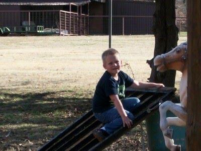 My precious grandson Clayton