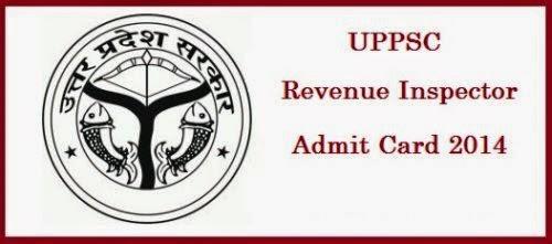 UPPSC Revenue Inspector Admit Card 2015