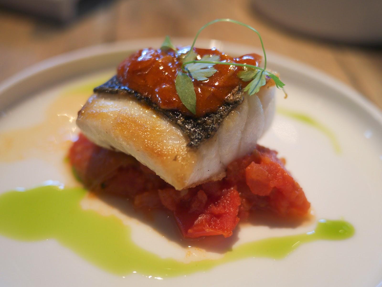 Bravas Tapas restaurant St Katherine Docks London Mediterranean Seabass