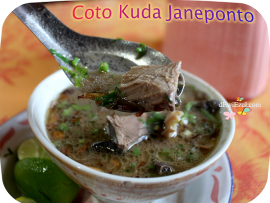 pengalaman makan Coto Kuda di Janeponto