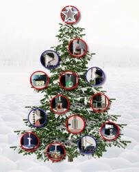 Texture Analysis Christmas tree