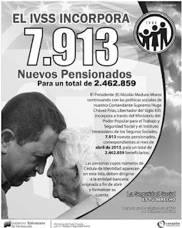 Lista de pensionados por Misión Amor Mayor y el Ivss (17/03/2013)