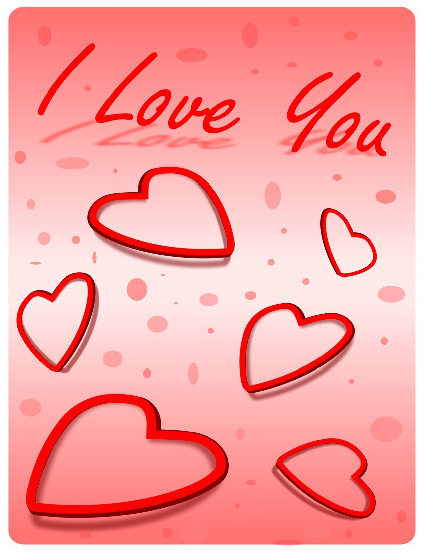 I Love You Greeting Cards For Wife Ucapan Valentine 2013