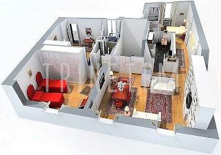 مخطط فلل جديد مخططات منازل ملونه Engineering plans for the most beautiful villas