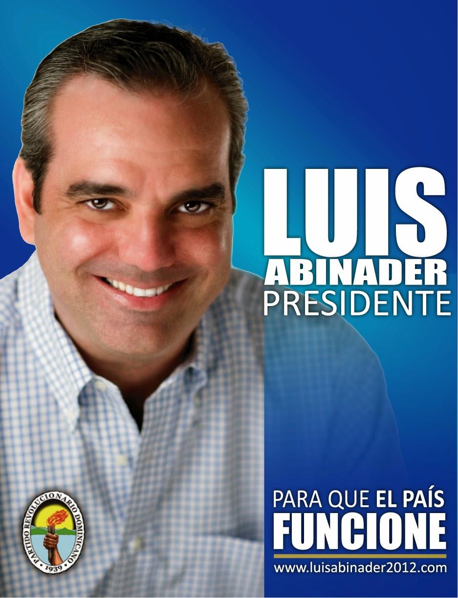 Tamboril con Luís Abinader
