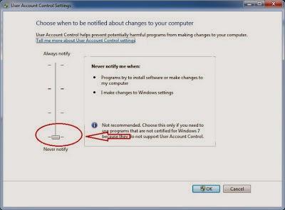 UAC - Cara Install Xampp Di Windows 7