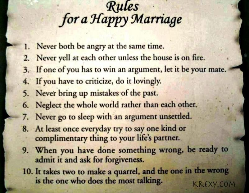 tell it like it is perfect time marriage