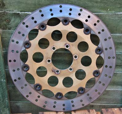 Cagiva Mito 125 Brake disc wear limits