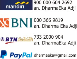 Transfer Bank & No. Rekening