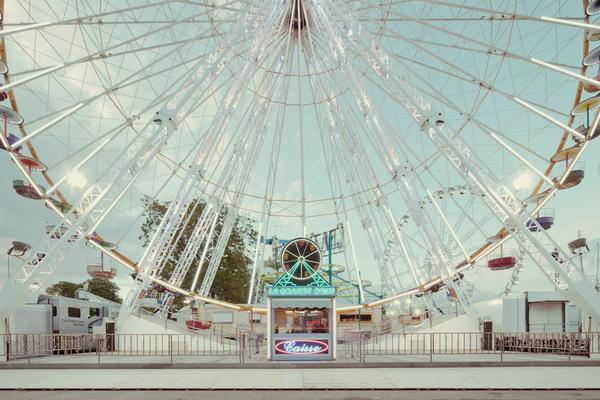 Franck Bohbot Fotografia Feira diversões