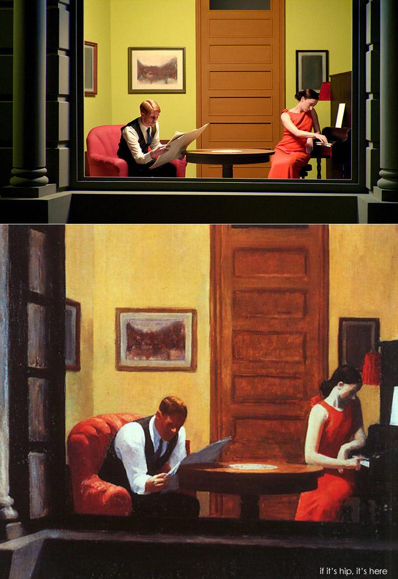 Edward Hopper Room In New York Histoire Des Arts