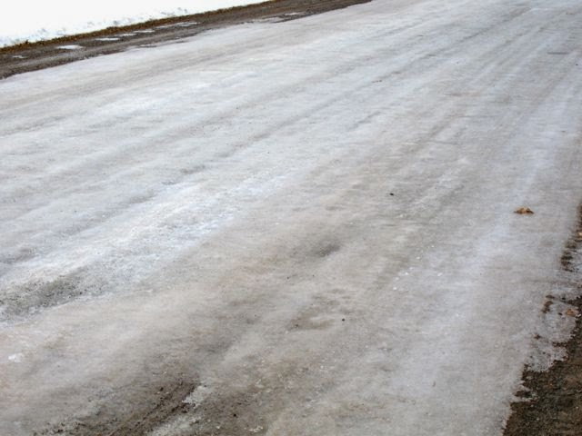 Spring road condition March 11 2013