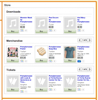 YouTube online store image from Bobby Owsinski's Music 3.0 blog