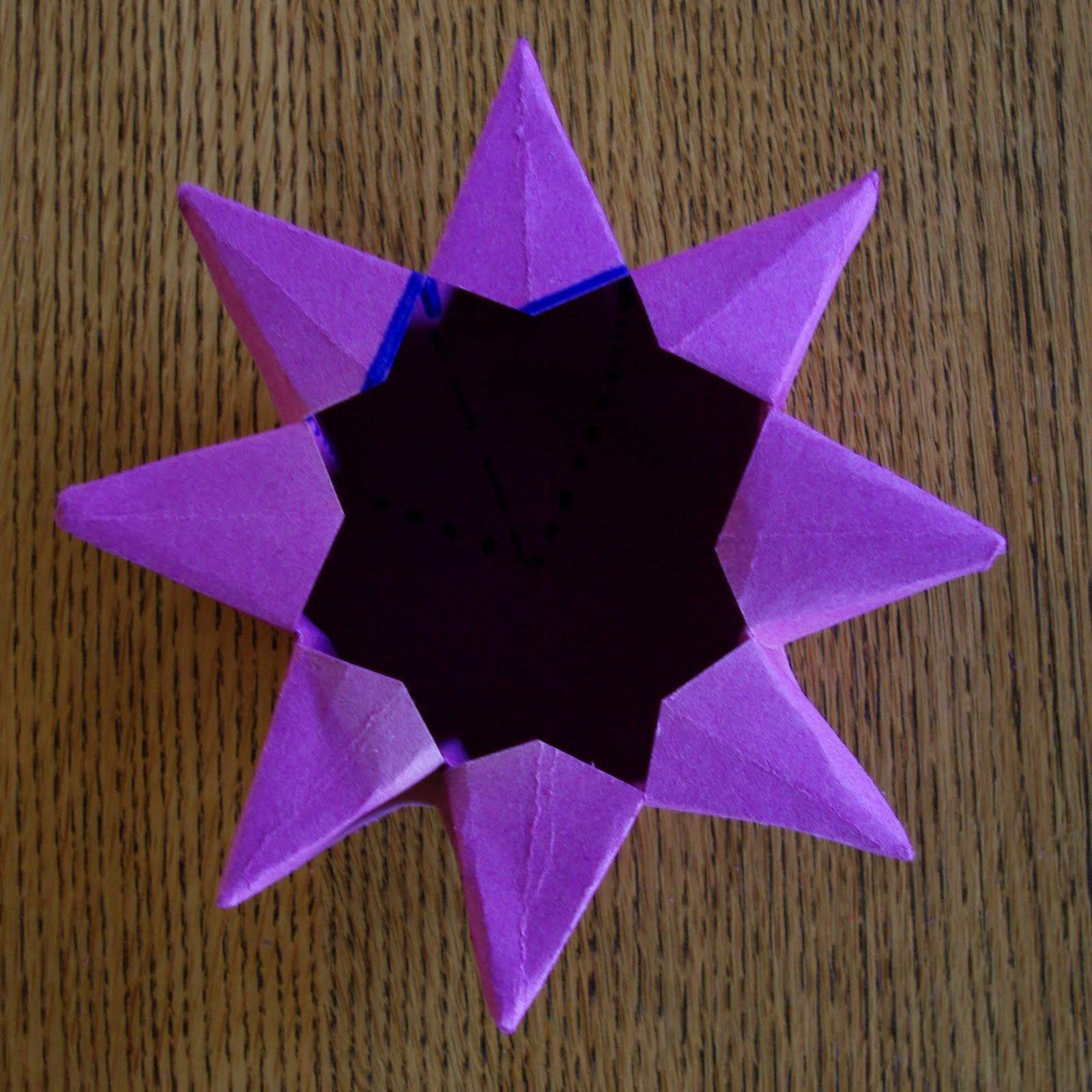 Passengers On A Little Spaceship Paper Star Lantern Tutorial