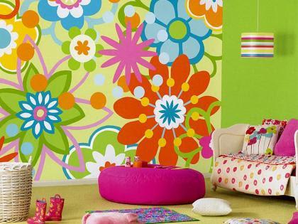 Decoracion actual de moda paredes decoradas con dibujos - Decoracion actual de moda ...