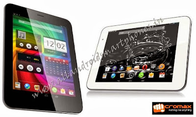 Micromax Canvas Tab P650 Android Tablet Black White Front Images & Photos Review