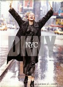 DKNY 90s ad
